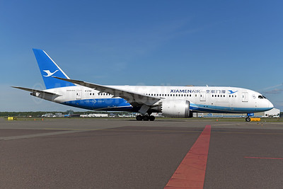 Xiamen Air's first Boeing 787 Dreamliner