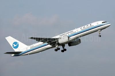 Xiamen Airlines Boeing 757-25C B-2868 (msn 32941) SIN (Bailey). Image: 931673.