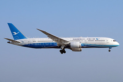 Xiamen Air Boeing 787-9 Dreamliner B-7838 (msn 63322) LAX (Michael B. Ing). Image: 938795.