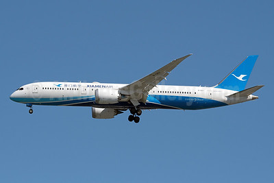 Xiamen Air Boeing 787-9 Dreamliner B-1357 (msn 63043) JFK (Fred Freketic). Image: 943833.