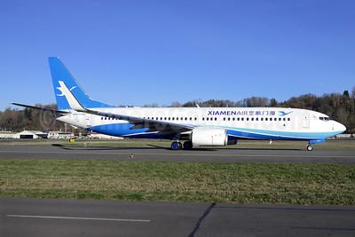 Xiamen Air Boeing 737-85C WL B-1971 (msn 39904) BFI (Steve Bailey). Image: 925330.