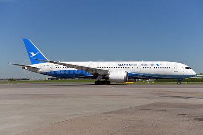 Xiamen Air Boeing 787-9 Dreamliner B-1567 (msn 63041) AMS (Ton Jochems). Image: 941831.