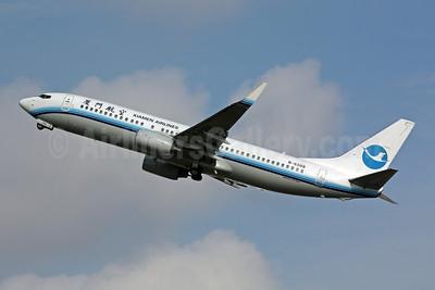 Xiamen Airlines Boeing 737-85C WL B-5308 (msn 32687) SIN (Michael B. Ing). Image: 901117.