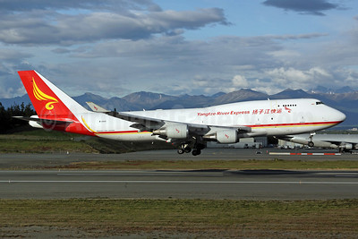 Yangtze River Express Boeing 747-481 (BCF) B-2432 (msn 28283) ANC (Michael B. Ing). Image: 903086.
