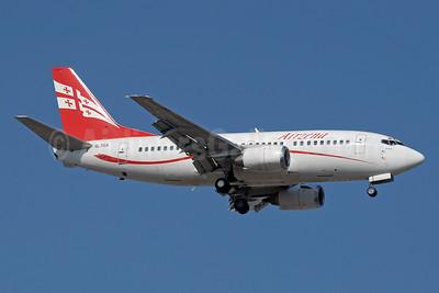 Airzena Georgian Airlines Boeing 737-529 4L-TGA (msn 25218) AYT (Paul Denton). Image: 913393.
