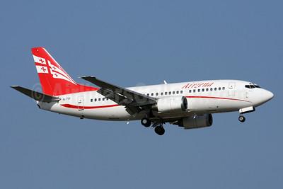 Airzena Georgian Airlines Boeing 737-505 4L-TGI (msn 26336) AYT (Andi Hiltl). Image: 913390.