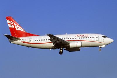 Airzena Georgian Airlines Boeing 737-505 4L-TGI (msn 26336) (Jacques Guillem Collection). Image: 938570.