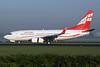 Airzena Georgian Airways Boeing 737-790 WL 4L-TGM (msn 33012) AMS (Michael B. Ing). Image: 902827.