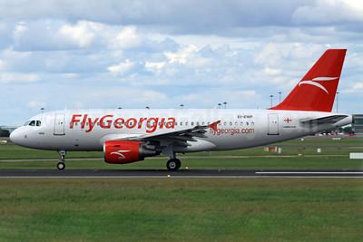 FlyGeorgia (flygeorgia.com) (Georgia) Airbus A319-111 EI-EWF (4L-FGA) (msn 3834) DUB (Paul Doyle). Image: 908665.