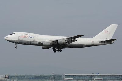 Geo Sky Boeing 747-268B (F) 4L-GEO (msn 23711) FRA (Bernhard Ross). Image: 953310.