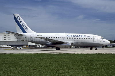 """""""Oasis"""" - Airline Color Scheme - Introduced 1990"""