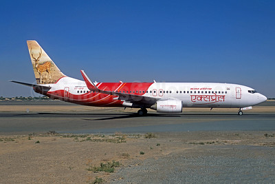 Air India Express Boeing 737-8HG WL VT-AYB (msn 36338) (Deer) (Jacques Guillem Collection). Image: 942693.