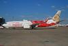 Air India Express Boeing 737-8HG WL VT-AYA (msn 36337) (Ellora elephant statue) FRA (Bernhard Ross). Image: 902715.