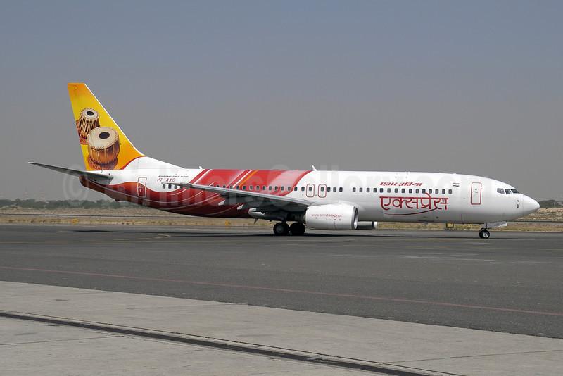 Air India Express Boeing 737-8BK VT-AXC (msn 33024) (Tabla) SHJ (Paul Denton). Image: 909903.