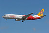 Air India Express Boeing 737-8BK VT-AXB (msn 33023) (Rangol) LHR (Keith Burton). Image: 900257.