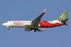 Air India Express Boeing 737-8HG WL VT-AXT (msn 36331) (Indian Peacock) DXB (Konstantin von Wedelstaedt). Image: 900258.