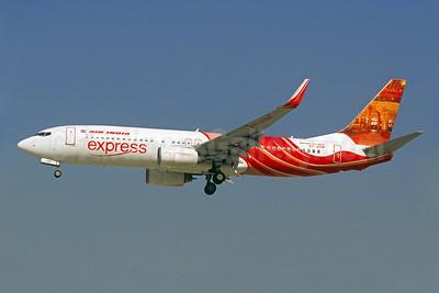 Air India Express Boeing 737-8HG WL VT-AXM (msn 36326) (Mehrangarh Fort) DXB (Christian Volpati). Image: 909911.