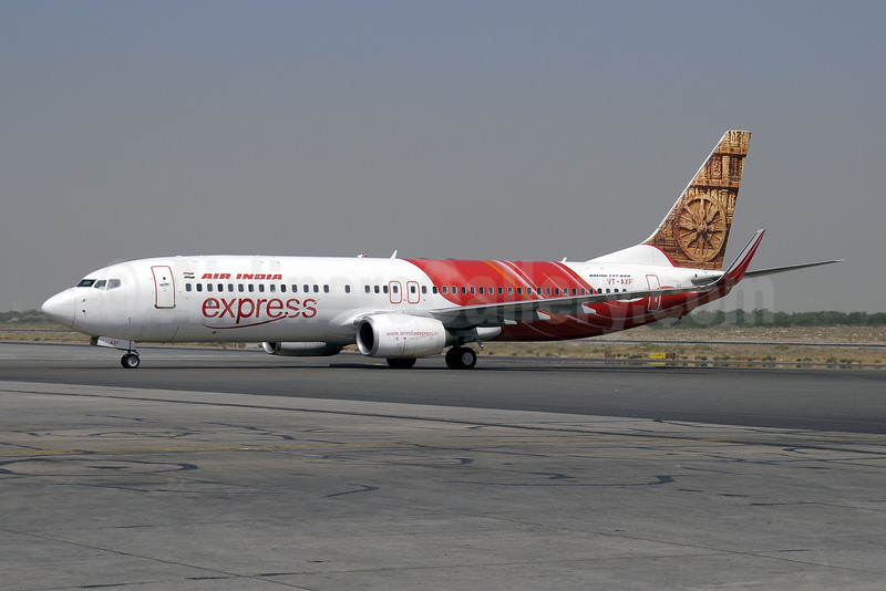 Air India Express Boeing 737-8Q8 WL VT-AXF (msn 29369) (Konark Sun Temple) SHJ (Paul Denton). Image: 909912.