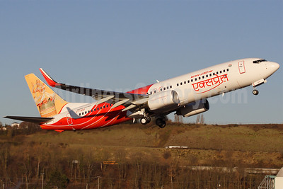 Air India Express Boeing 737-8HG WL VT-AYD (msn 36340 (Nagaland Folk Dance) BFI (Rick Schlamp). Image: 904320.
