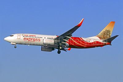 Air India Express Boeing 737-8HG WL VT-AXW (msn 36334) (Sanchi Stupa) DXB (Christian Volpati). Image: 909905.