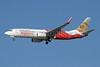 Air India Express Boeing 737-8HG WL VT-AYA (msn 36337) (Ellora elephant statue) DXB (Paul Denton). Image: 909907.