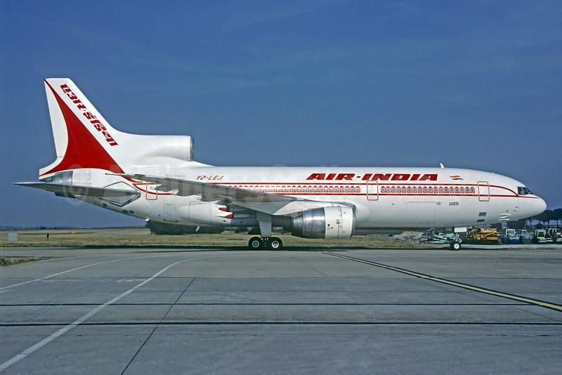 Air India (Caribjet) Lockheed L-1011-385-3 TriStar 500 V2-LEJ (msn 1246) CDG (Christian Volpati). Image: 921659.