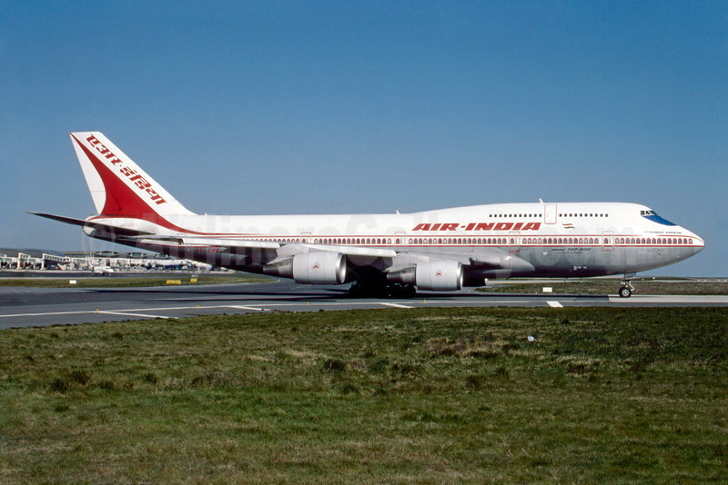 Air India Boeing 747-337 VT-EPX (msn 241060) CDG (Jacques Guillem). Image: 913034.