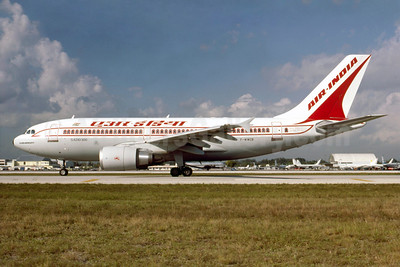 Air India Airbus A310-304 F-WWCB (VT-EJL) (msn 392) MIA (Keith Armes). Image: 913035.