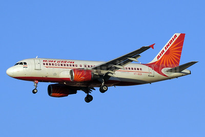 Air India Airbus A319-112 VT-SCO (msn 3822) DXB (Paul Denton). Image: 912141.