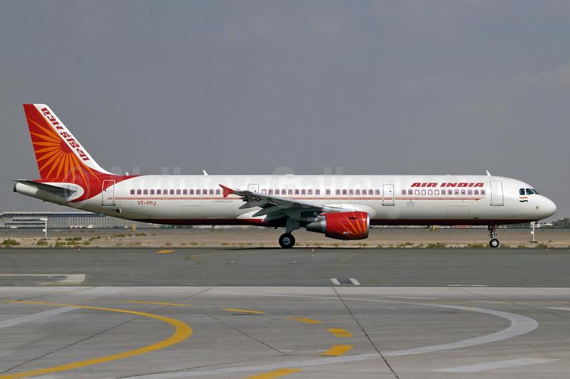 Air India Airbus A321-211 VT-PPJ (msn 3573) DXB (Jay Selman). Image: 402022.