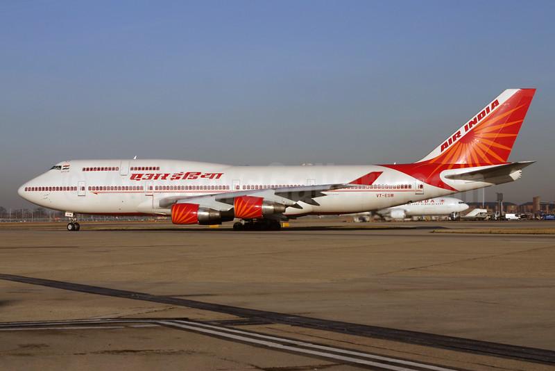 Air India Boeing 747-437 VT-ESM (msn 27078) LHR. Image: 928548.