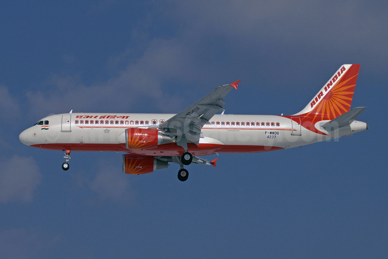Air India Airbus A320-214 F-WWDG (VT-EDF) (msn 4237) TLS (Clement Alloing). Image: 907676.
