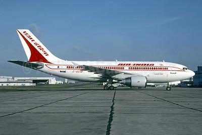 Air India Airbus A310-324 C-GCIO (msn 449) LBG (Christian Volpati). Image: 950179.