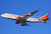 Air India Boeing 747-437 VT-ESP (msn 27214) LHR (Keith Burton). Image: 902309.