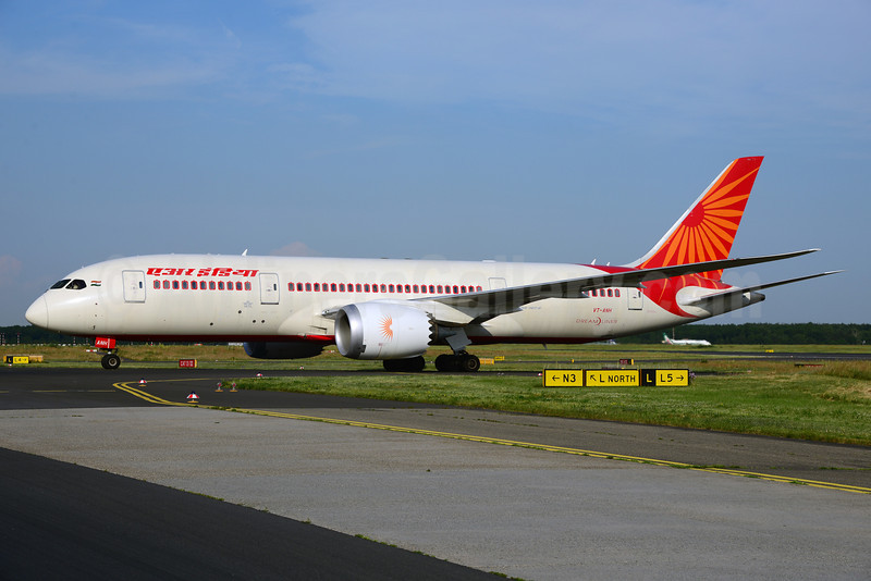 Air India Boeing 787-8 Dreamliner VT-ANH (msn 36276) FRA (Ton Jochems). Image: 912673.
