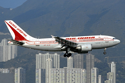 Air India Airbus A310-304 VT-EJI (msn 413) HKG (Christian Volpati Collection). Image: 951718.