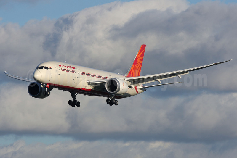 Air India Boeing 787-8 Dreamliner VT-AND (msn 36278) LHR (Antony J. Best). Image: 921990.