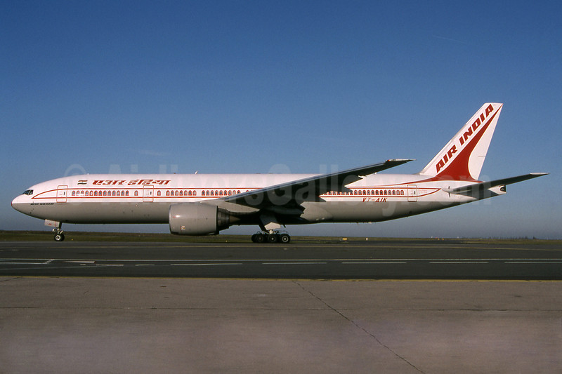 Air India Boeing 777-222 ER VT-AIK (msn 28714)
