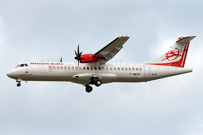 Alliance Air ATR 72-212A (ATR 72-600) F-WWEK (msn 1439) TLS (Paul Bannwarth). Image: 938895.