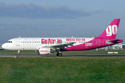 GoAir (GoAir.in) (India) Airbus A320-214 EC-JRU (msn 1597) DUB (Paul Doyle). Image: 906617.