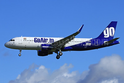 GoAir (GoAir.in) (India) Airbus A320-214 WL (Sharklets) F-WWBE (VT-GOL) (msn 5463) TLS (Eurospot). Image: 910646.