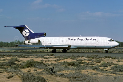 Hinduja Cargo Services (Lufthansa Cargo Venture) Boeing 727-243 (F) VT-LCB (msn 22053) SHJ (Rolf Wallner). Image: 949902.