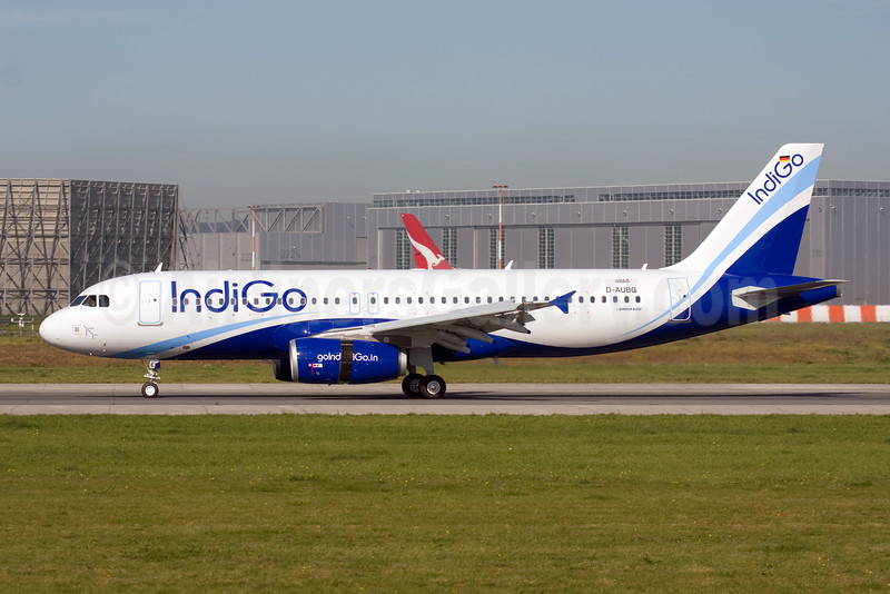 IndiGo Airlines Airbus A320-232 D-AUBQ (VT-IEK) (msn 4868) XFW (Michael Stappen). Image: 907365.