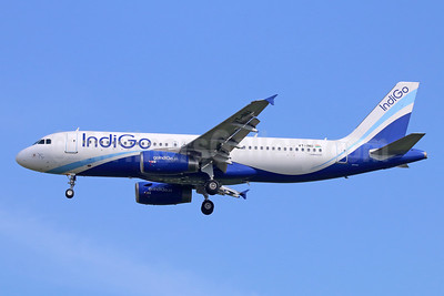 IndiGo Airlines Airbus A320-232 VT-INU (msn 3541) BKK (Michael B. Ing). Image: 942280.