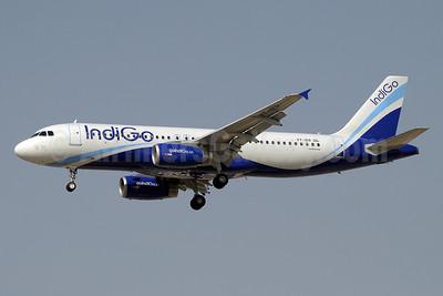 IndiGo Airlines Airbus A320-232 VT-IER (msn 5076) DXB (Paul Denton). Image: 910832.