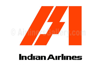1. Indian Airlines logo