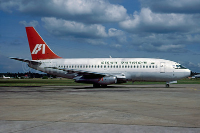 Indian Airlines Boeing 737-2A8 VT-ECP (msn 20960) (Martin Hornlimann - Bruce Drum Collection). Image: 913037.