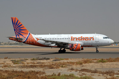 Indian Airlines Airbus A319-112 VT-SCB (msn 2624) SHJ (Paul Denton). Image: 913879.