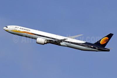 Jet Airways Boeing 777-35R ER VT-JEH (msn 35166) LHR (SPA). Image: 940933.