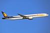 Jet Airways Boeing 777-35R ER VT-JEW (msn 35164) LHR (Keith Burton). Image: 936661.